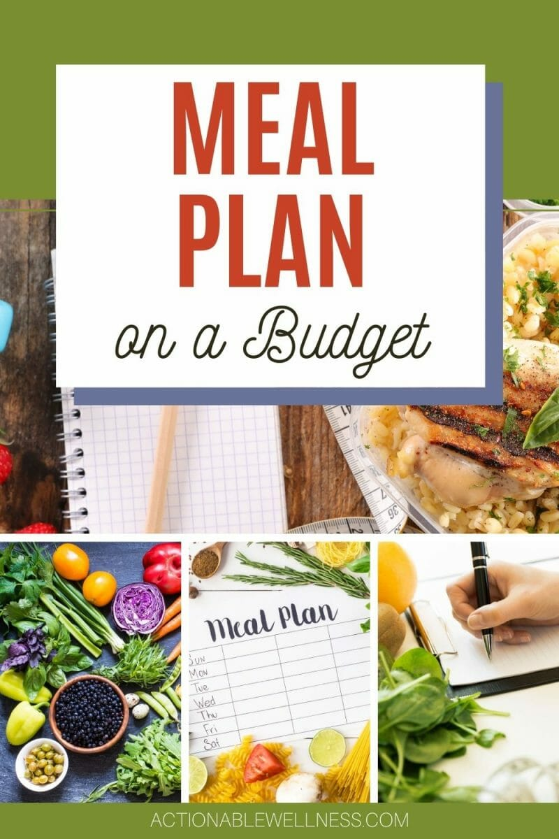 The healthiest food is unprocessed and chemical-free whole food. No matter if you eat plant-based or meat-based meals, you can meal plan on a budget.