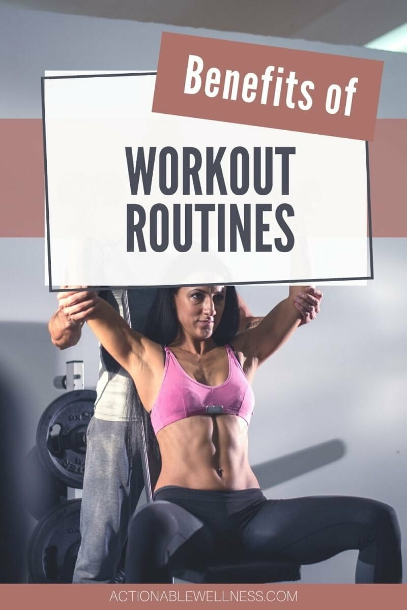 woman doing her workout routine on weight machines with a trainer