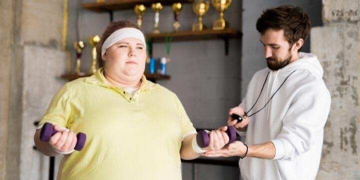 Strength Training for Obese Beginners
