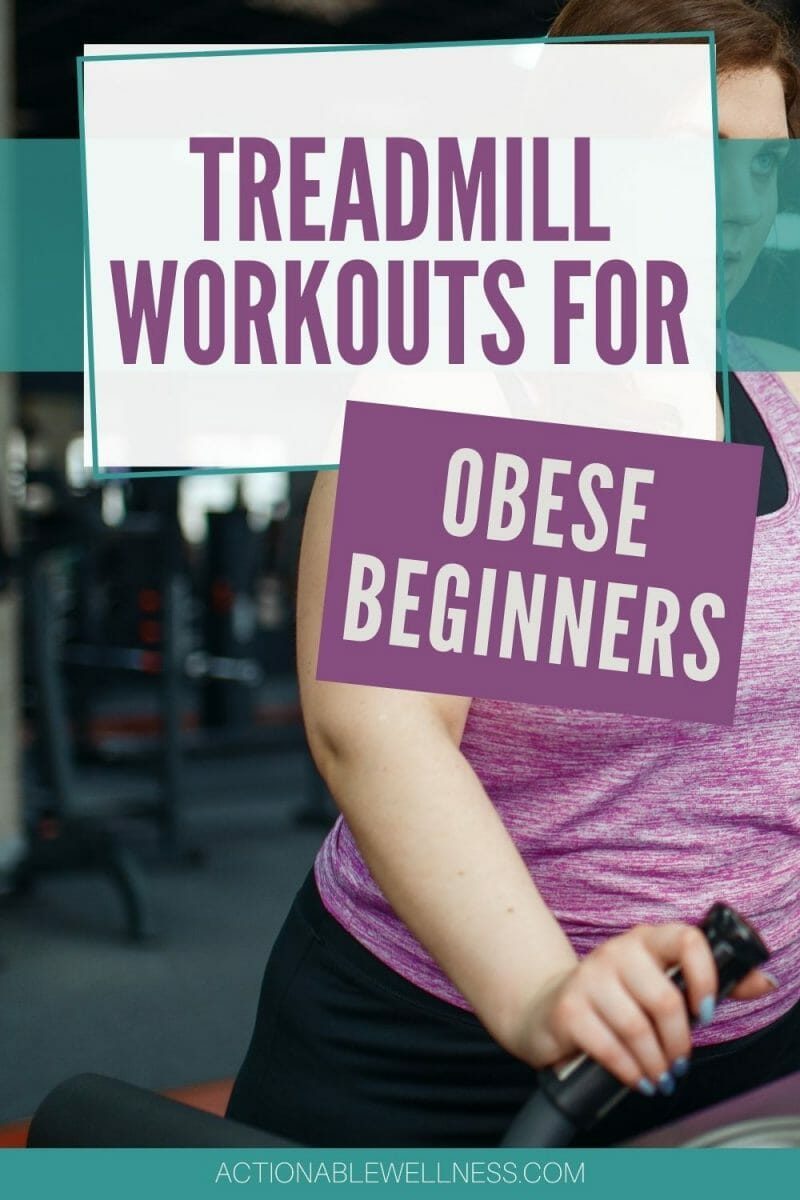 Are you an obese beginner who has is using a treadmill for the first time? This blog is full of helpful tips and tricks that will help you get started on your fitness journey. I promise you'll make progress with these treadmill workouts for obese beginners!